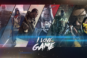 Video Games Collage Wallpaper
