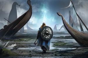 Viking Artwork Wallpaper