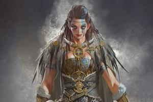 Viking Girl 4k 2020