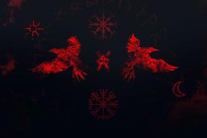 Vikings Raven 4k Wallpaper