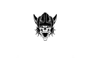 Vikings Skull