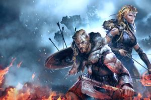 Vikings Wolves Of Midgard 4k