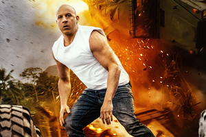 Vin Diesel As Dominic Toretto In Fast 9 5k Wallpaper