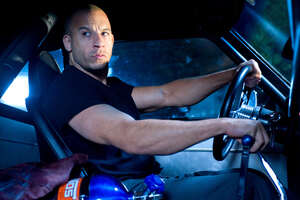 Vin Diesel In Fast And Furious