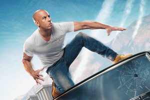 Vin Diesel In The Fate Of The Furious Wallpaper