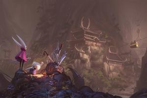 Vincent Bisschop Hollow Knight Fantasy Art 8k Wallpaper