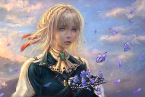 Violet Evergarden Anime Girl