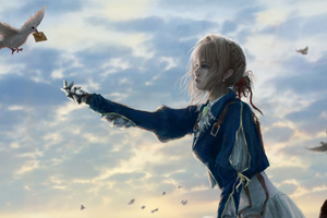 Violet Evergarden Getting Message