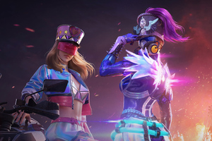 Violet Halo Set And Dazzling Youth Pubg 2020