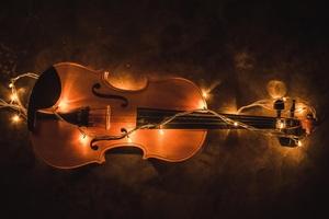 Violin Lighting Instrument