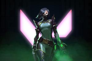 Viper Valorant Game Artwork