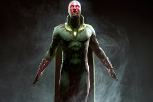 Vision Marvel Superhero