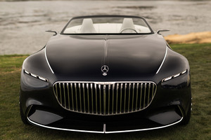 Vision Mercedes Maybach 6 Cabriolet 2017 Wallpaper