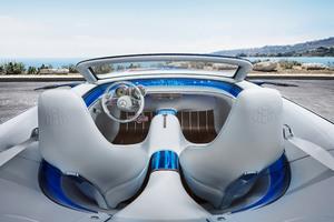 Vision Mercedes Maybach 6 Cabriolet Interior Wallpaper