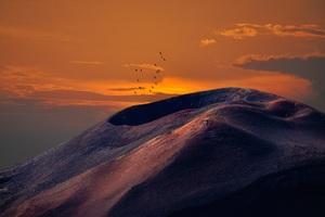 Volcanic Landscape 8k Wallpaper
