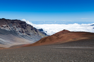 Volcano Haleakala On The Hawaiian Island 4k Wallpaper
