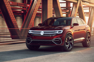 Volkswagen Atlas Cross Sport Concept 2018 Wallpaper