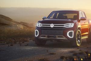 Volkswagen Atlas Tanoak Pickup Truck Concept 2018