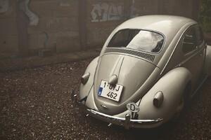 Volkswagen Beetle Vintage Wallpaper