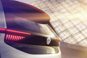 Volkswagen EV Concept Car Wallpaper