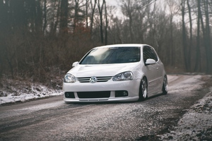 Volkswagen Golf Tuned Wallpaper