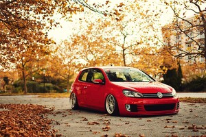 Volkswagen Red Wallpaper