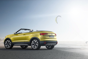 Volkswagen T Cross Breeze Concept Rear Wallpaper
