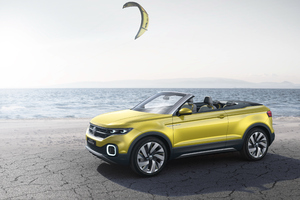 Volkswagen T Cross Breeze Concept Wallpaper