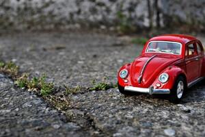 Volkswagen Toy Macro