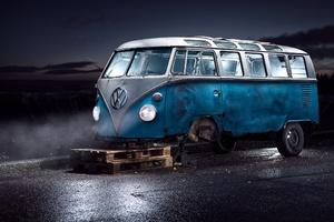 Volkswagen Van Tyre Repair
