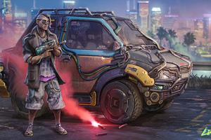 Voodoo Boy Cyberpunk 2077 5k
