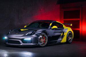 Vorsteiner Porsche Cayman GT Wallpaper
