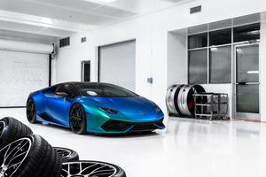 Vossen Lamborghini Huracan 8k Wallpaper