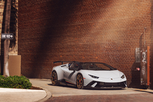 Vossen Novitech Huracan Performance 8k Wallpaper