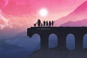 Vox Machina Horizon Wallpaper