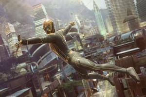 Wakandan Armor Spiderman 4k