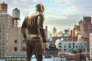 Wakandan Armor Spiderman