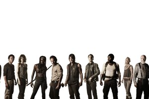 Walking Dead Actors Wallpaper