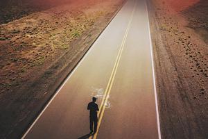 Walking On Road 4k Wallpaper