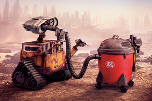 Wall E Movie 4k Wallpaper