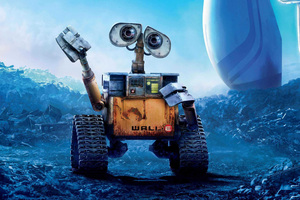 Wall E Movie Poster Wallpaper