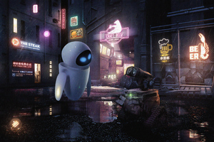 Wall E Robot New Wallpaper