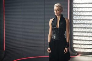 Wallis Day As Nyssa Vex In Krypton
