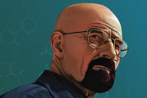 Walter White In Breaking Bad 4k Artwork