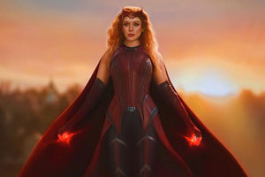 Wanda As Scarlet Witch 5k Wallpaper