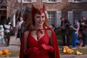 Wanda Maximoff 2021 Red Costume