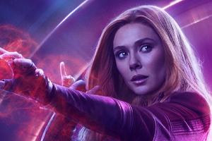 Wanda Maximoff In Avengers Infinity War New Poster