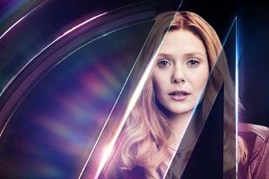 Wanda Maximoff In Avengers Infinity War