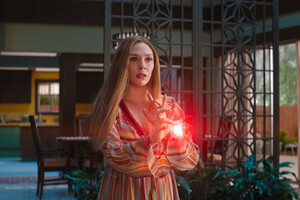 Wanda Maximoff Powers 2021 4k Wallpaper