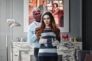Wanda Nd Vision 4k Wallpaper